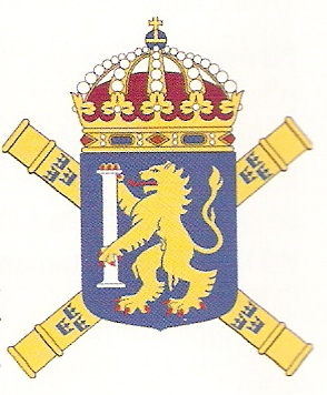 Coat of arms (crest) of the 1st Mechanized Division, Swedish Army