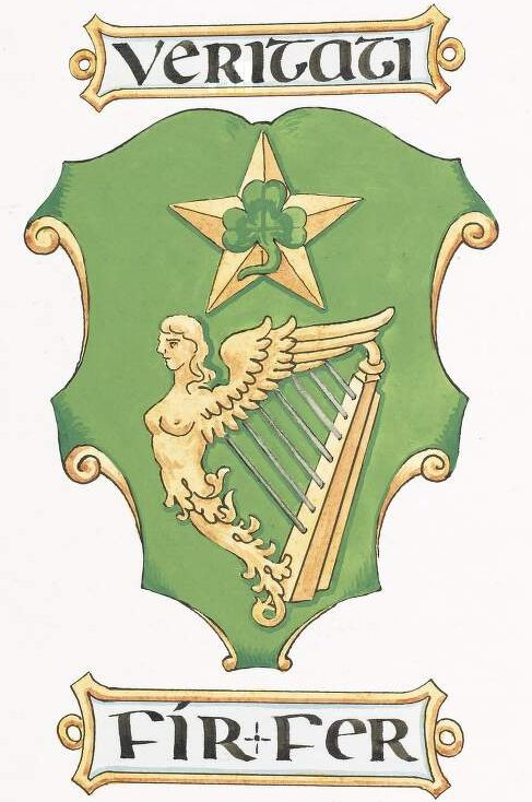 Arms of National University of Ireland