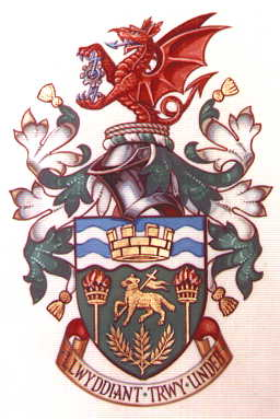 Arms (crest) of Cynon Valley