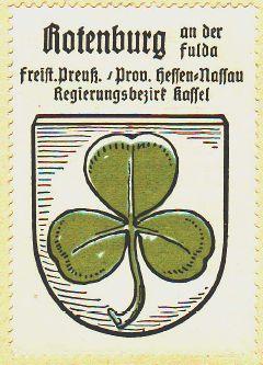 Wappen von Rotenburg an der Fulda