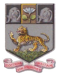 Arms of University of Madras
