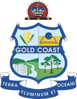 Arms (crest) of Gold Coast
