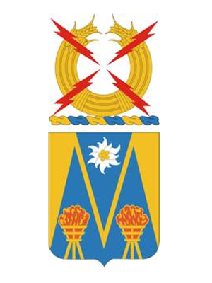 Coat of arms (crest) of the 303rd Military Intelligence Battalion, US Army