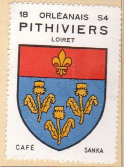 Pithiviers - Blason de Pithiviers (armoiries, coat of arms)