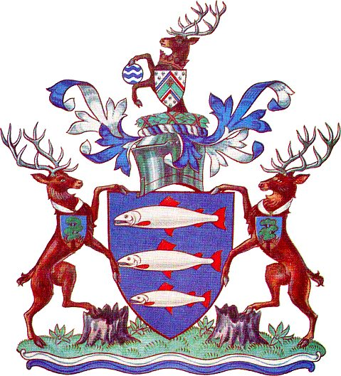 Arms (crest) of Kingston-upon-Thames