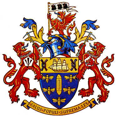 Arms (crest) of Salford