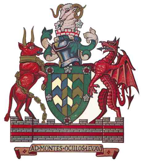Arms (crest) of Cumbria