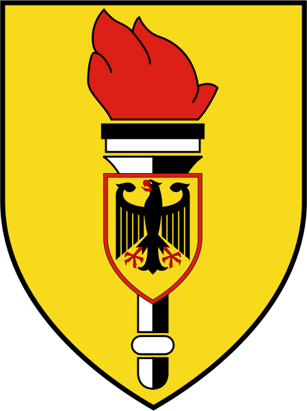 Coat of arms (crest) of the Military Counter-Intelligence Service, Germany
