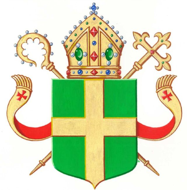 Arms (crest) of Diocese of Groningen-Leeuwarden