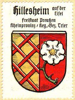 Hillesheim (Rheinhessen) - Wappen von Hillesheim