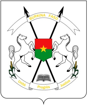 Arms of National Arms of Burkina Faso