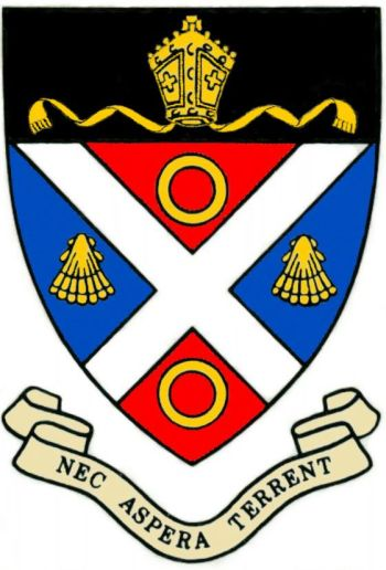 Arms of St. Andrews College, Grahamstown