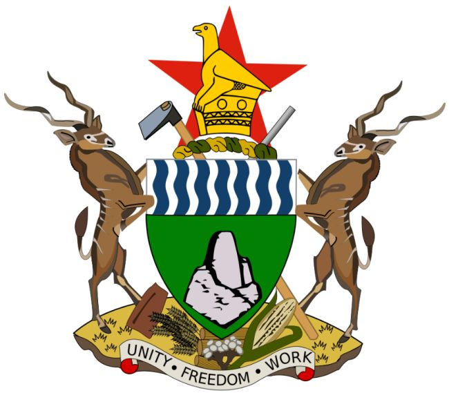 Arms of National Arms of Zimbabwe