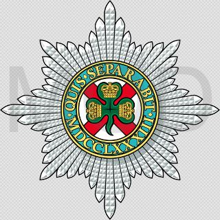 Coat of arms (crest) of the Irish Guards, British Army