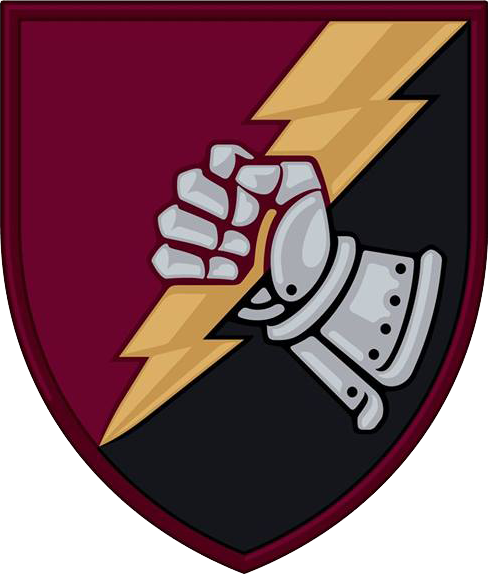 Coat of arms (crest) of the 23rd Tank Battalion, Ukrainian Army