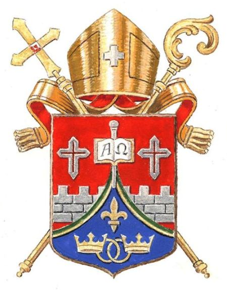 Arms (crest) of Diocese of Joinville