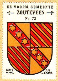 Zouteveen - Wapen - coat of arms - crest of Zouteveen
