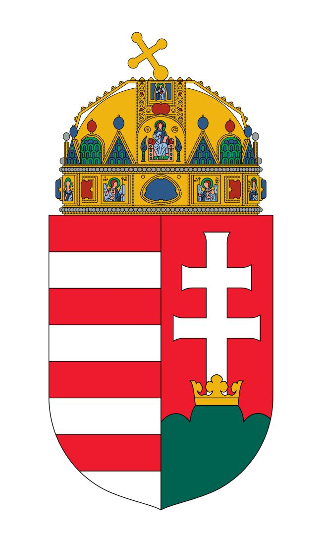 National Arms of Hungary - Címer - coat of arms - crest of National