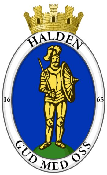 Halden Norway Kommunevapen Coat Of Arms Crest Of Halden Norway