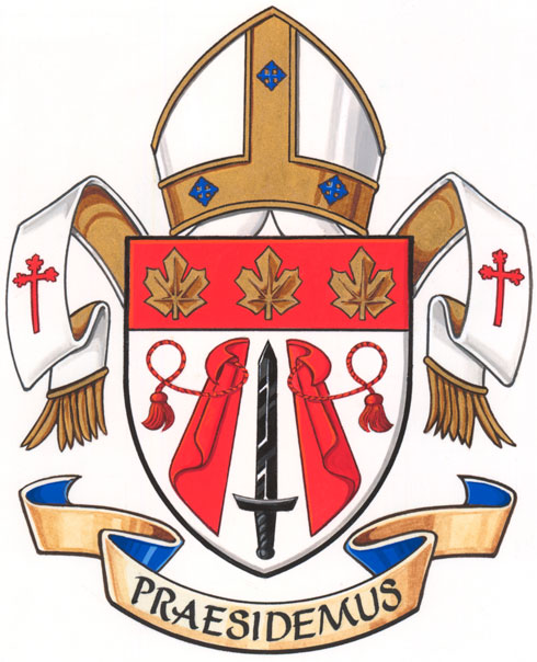 Arms of Military Ordinariate of Canada