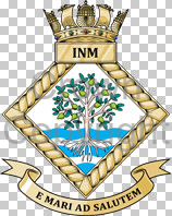 Coat of arms (crest) of the Institute of Naval Medicine, Royal Navy