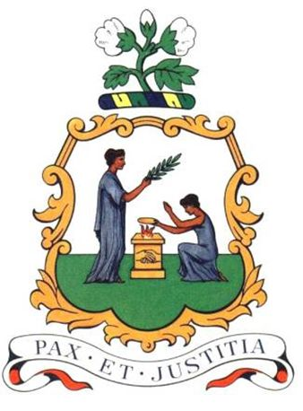 Arms of National Arms of Saint Vincent and the Grenadines