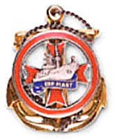 Coat of arms (crest) of the ORP Piast, Polish Navy