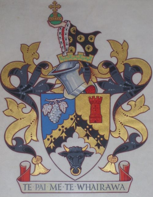 Arms (crest) of Waitakere