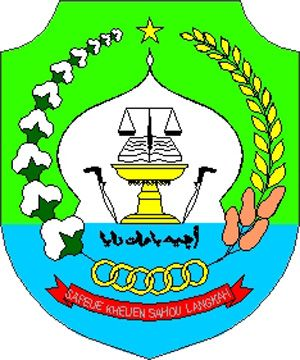 Arms of Aceh Barat Daya Regency