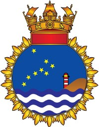 Coat of arms (crest) of the Sukanuya Class Offshore Patrol Vessels, Indian Navy