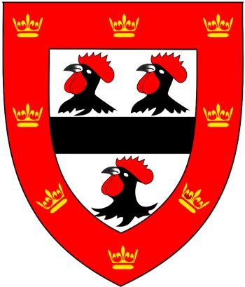 Arms (crest) of Jesus College (Cambridge University)