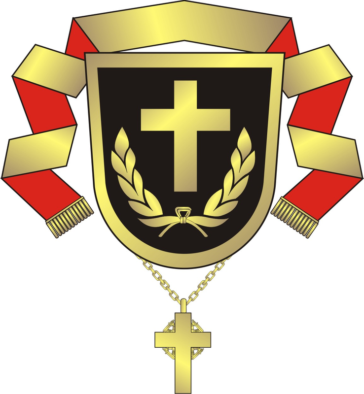 Arms (crest) of the Military Bishop of the Finnish Defence Forces