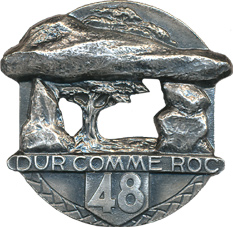48th Infantry Regiment, French Army - Blason - Armoiries