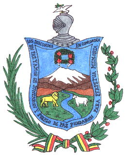 Arms (crest) of La Paz (Departement)
