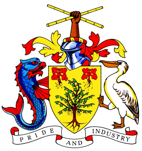 Arms of National Arms of Barbados
