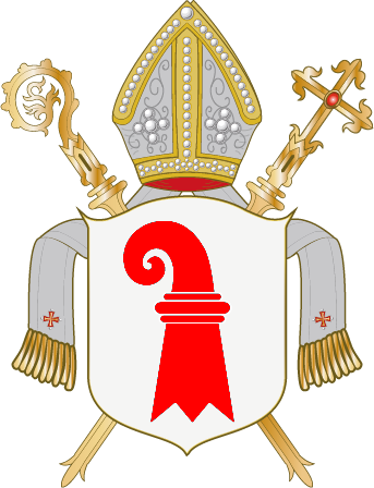 Arms (crest) of Diocese of Basel