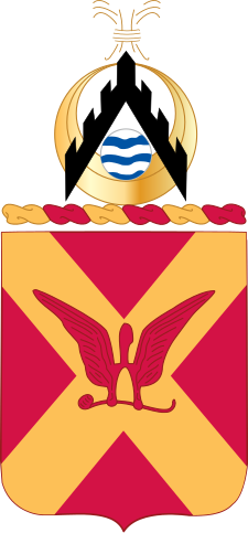 Coat of arms (crest) of the 84th Field Artillery Regiment, US Army