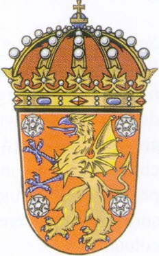 Coat of arms (crest) of the 3rd Wing Östgöta Wing, Swedish Air Force