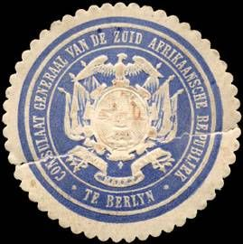 Seal of Zuid-Afrikaansche Republiek