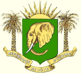 Arms of National Arms of Ivory Coast