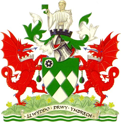 Arms (crest) of Neath and Port Talbot