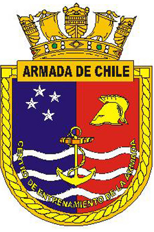 Coat of arms (crest) of the Naval Training Centre, Chilean Navy
