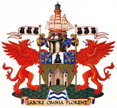 Arms (crest) of Eccles