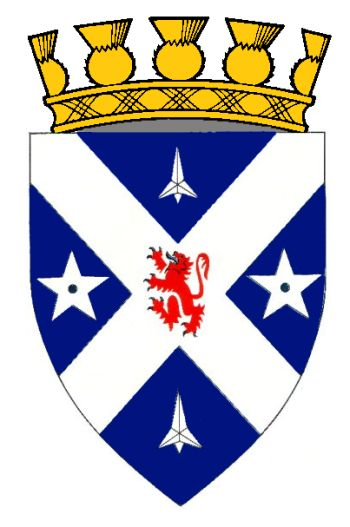 Arms (crest) of Stirling (Scotland)