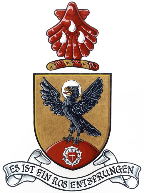 Arms of Parish of St. John's, Montreal