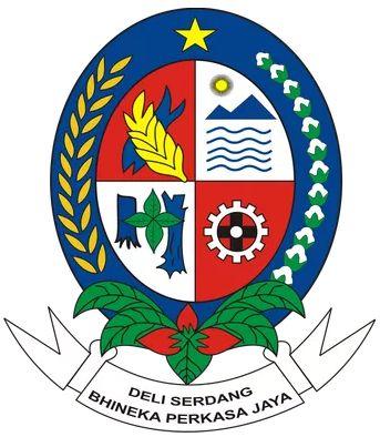Deli Serdang Regency Arms Of Deli Serdang Regency Coat Of Arms Crest