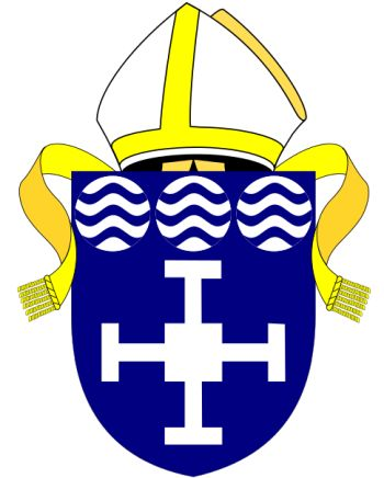 Arms (crest) of Diocese of Derby