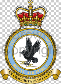 Coat of arms (crest) of the Intelligence Branch, Royal Air Force