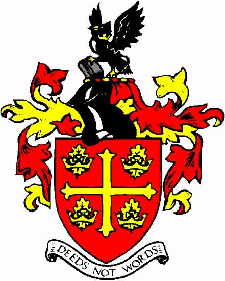 Arms (crest) of Corby