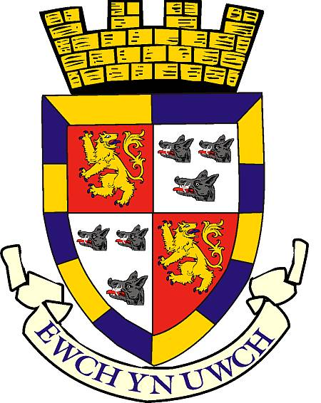 Arms (crest) of Radnorshire